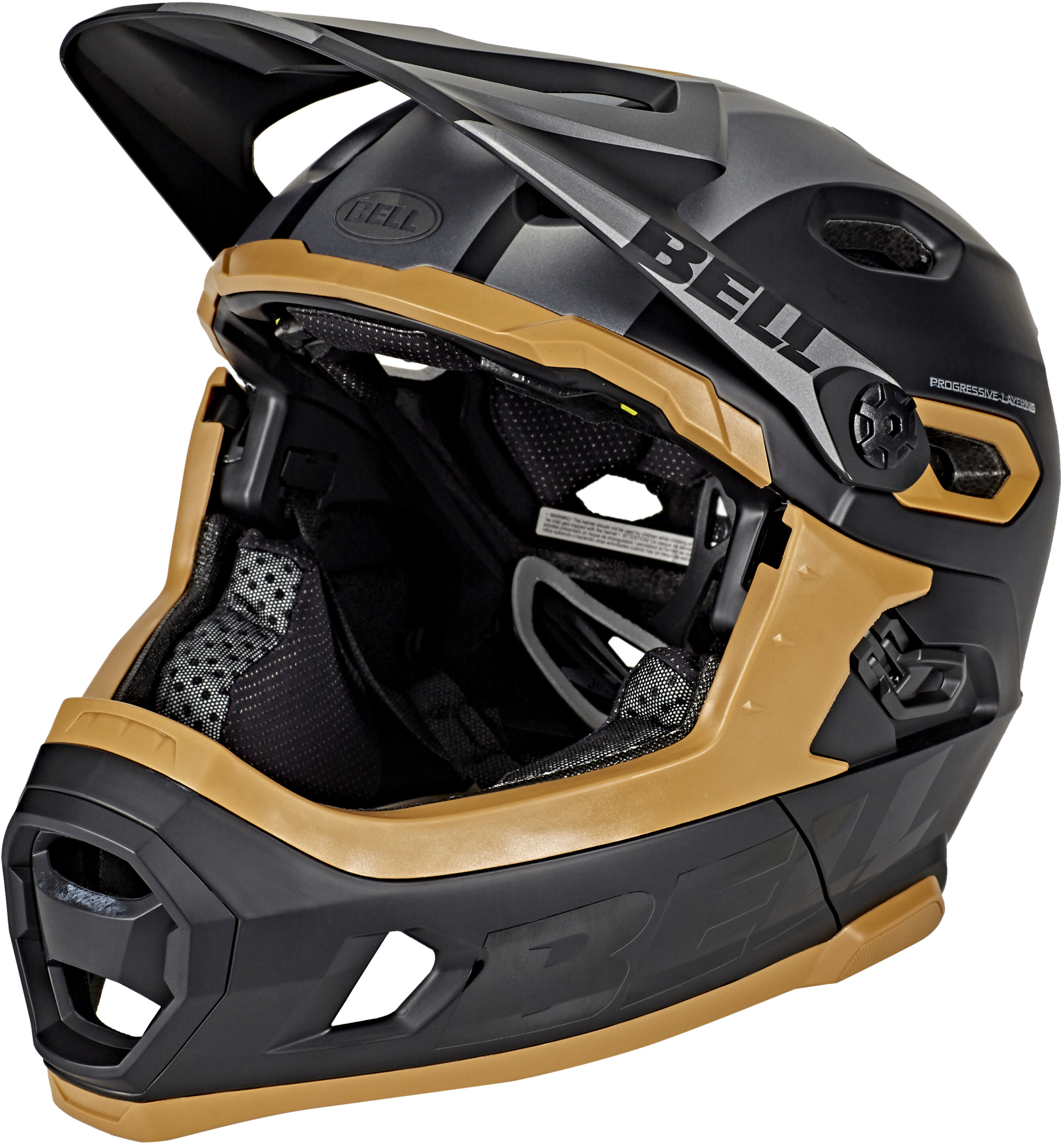 bell super dh mips mtb helmet matte black gum online kaufen. Black Bedroom Furniture Sets. Home Design Ideas